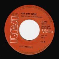 ELVIS PRESLEY In The Ghetto Vinyl Record 7 Inch German RCA Victor 1977